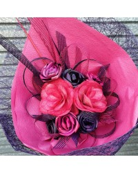06 Exclusive Pink & Purple Flax Bouquet