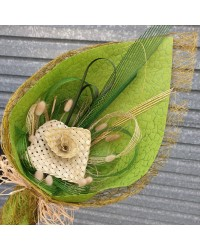 29 Exclusive Natural Flax Bouquet