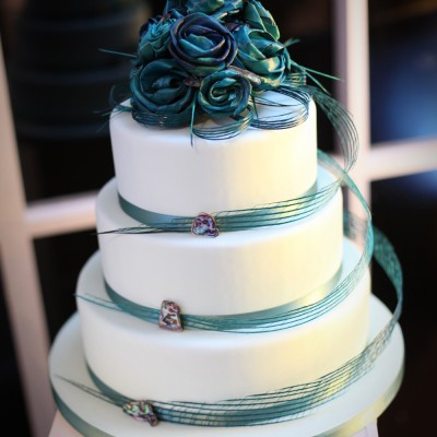 Flax Wedding Cake - Cake by Cake Couture