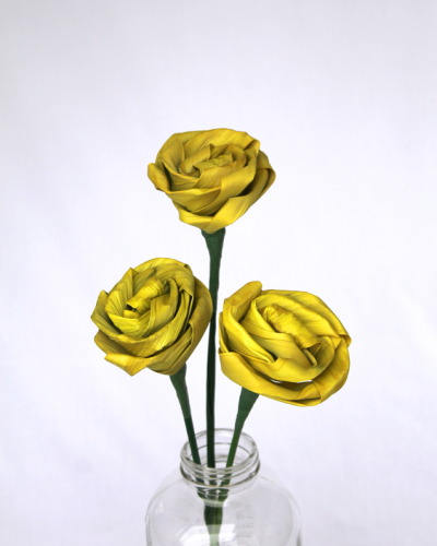 Yellow Flax Rose
